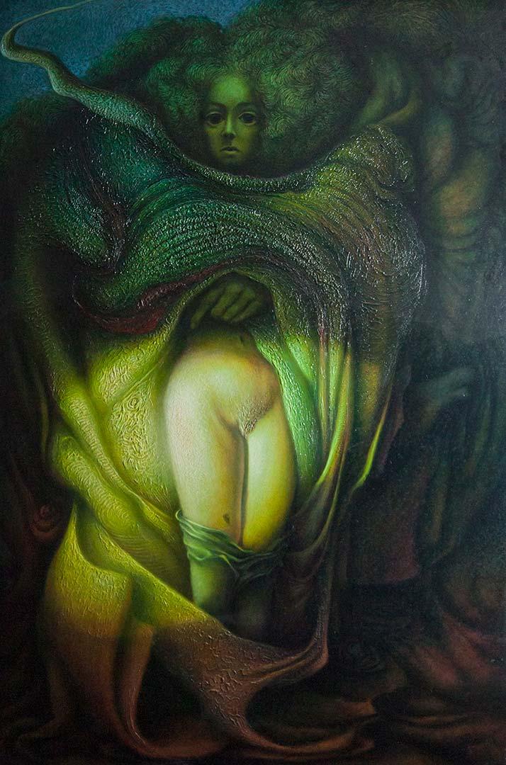 Il ladro di Eleonora – 100×150